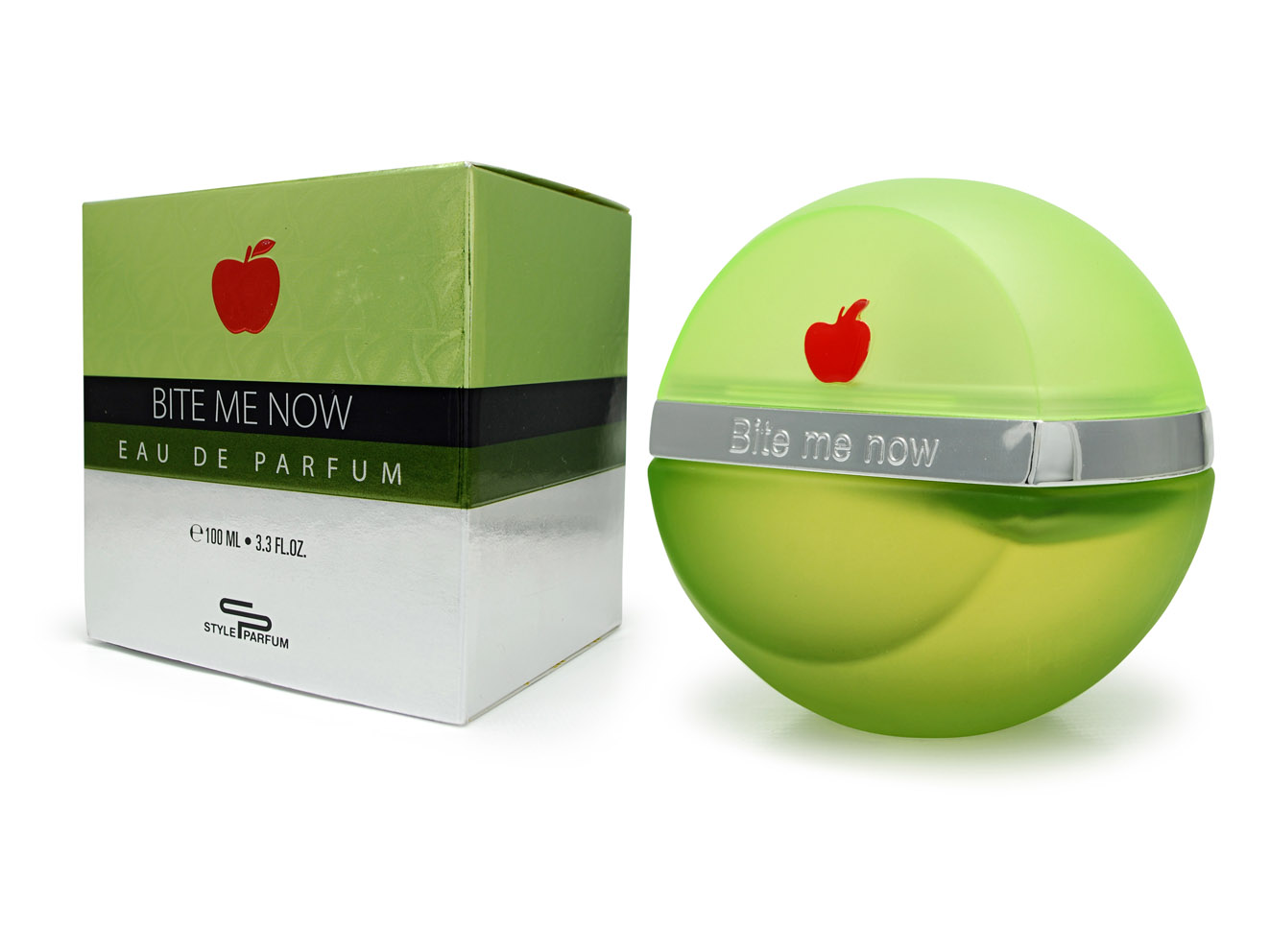 BITE ME NOW - DKNY BE DELICIOUS GREEN